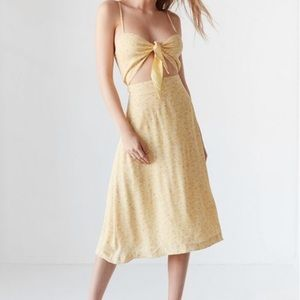 ROLLAS x URBAN OUTFITTERS Yellow Dress Size XS